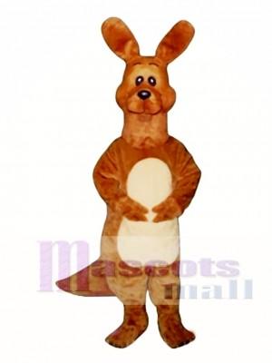 Dopey Kangaroo Mascot Costume Animal