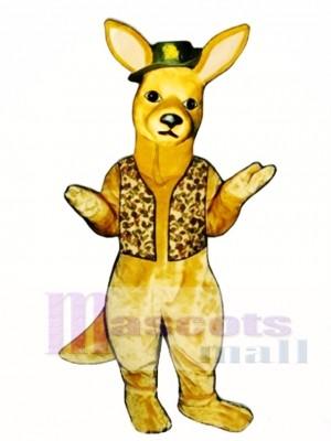 Down Under Kangaroo Mascot Costume Animal