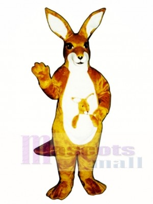 Kangaroo with Joey Mascot Costume Animal