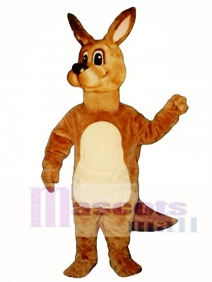 Cute Kangaroo Mascot Costume Animal