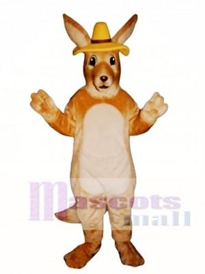 Melbourne Roo Kangaroo with Hat Mascot Costume Animal