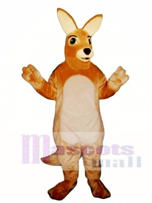 Kellie Kangaroo Mascot Costume Animal