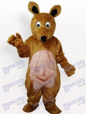 Kangaroo Plush Adult Mascot Costume