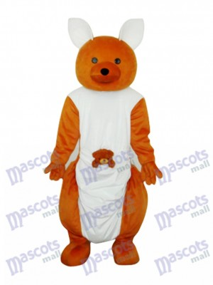 Cute Kangaroo Mascot Adult Costume Animal