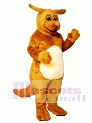 Cute Rudy Roo Kangaroo Mascot Costume Animal