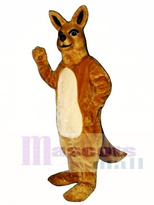 Cute Mamma Kangaroo Mascot Costume Animal