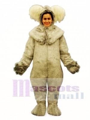 Koala with Hood Mascot Costume Animal