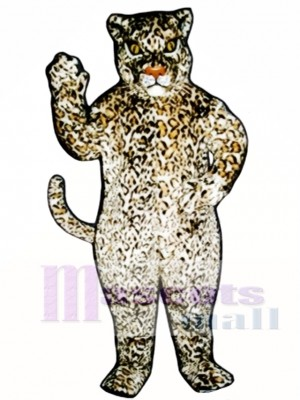 Cute Leopard Mascot Costume Animal