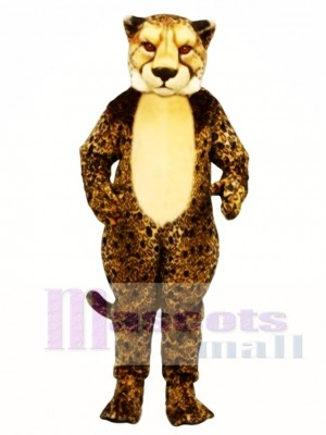 Cheetah Leopard Mascot Costume Animal