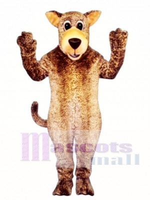 Cute Leo Leopard Mascot Costume Animal
