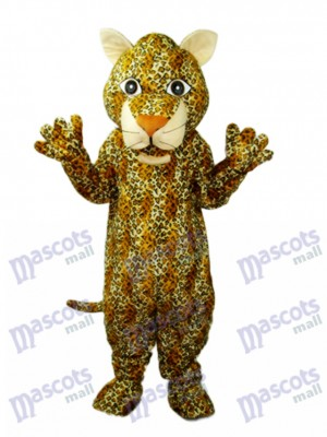 Young Leopard Mascot Adult Costume Animal