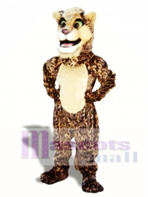 Leopard Cub Mascot Costume Animal