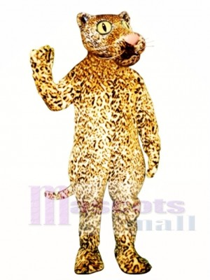 Leland Leopard Mascot Costume Animal