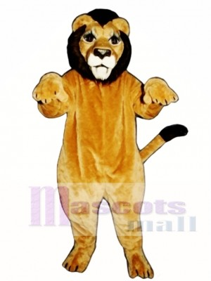 Realistic Lion Mascot Costume Animal