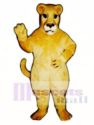 Realistic Lioness Lion Mascot Costume Animal