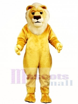 Sleepy Lion Mascot Costume Animal