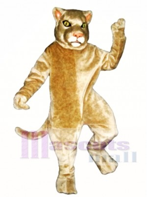 Cougar Mascot Costume Animal