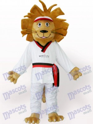 Happy Lion Animal Mascot Costume