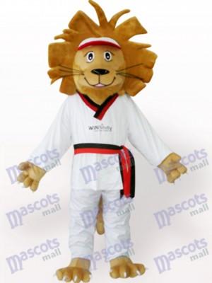 Happy Lion Animal Mascot Costume