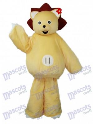 Golden Lion Mascot Adult Costume Animal