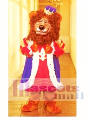 Louie Lion Mascot Costume Animal