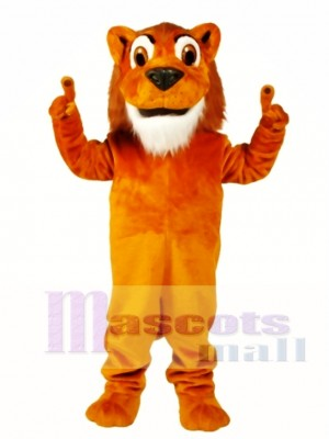 Larry Lion Mascot Costume Animal