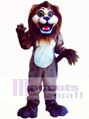Cute Andy Lion Mascot Costume Animal