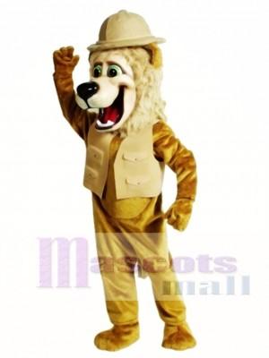 Roary Lion Mascot Costume Animal