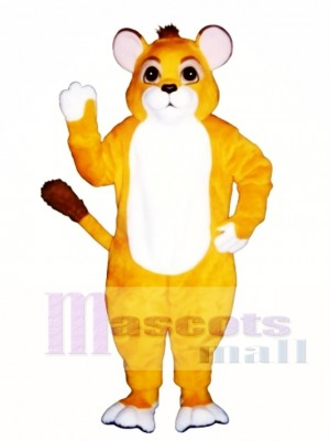 Lion Cub Mascot Costume Animal