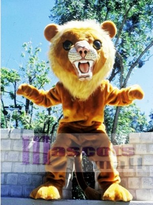 Big Cat Lion Mascot Costume Animal