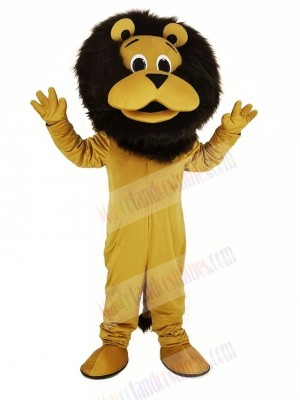 Funny King Lion Mascot Costume Animal