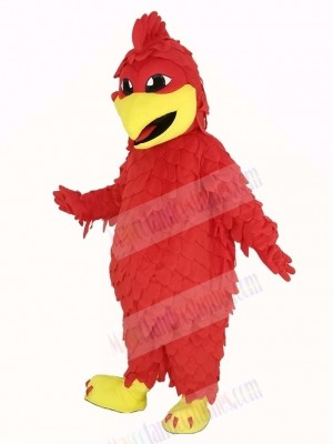 Red Chicken Rooster Mascot Costume Animal