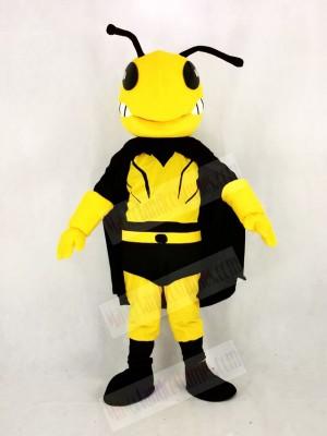 Cool Hero Bee Mascot Costume Cartoon