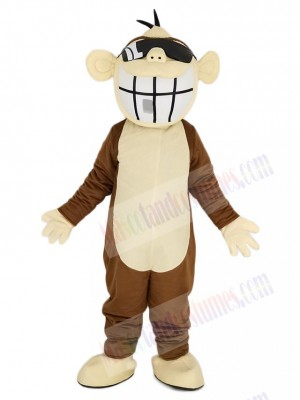 Brown Funny Monkey Mascot Costume Animal