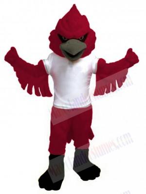 Power Cardinal Mascot Costume Animal