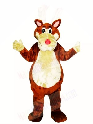 Brown Dog Mascot Adult Costumes