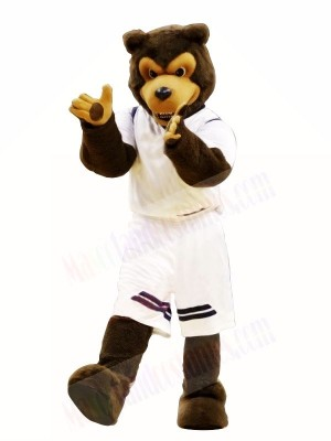Brown Wolf Mascot Costumes