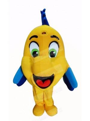 Cute Yellow Clownfish Mascot Costumes Cartoon