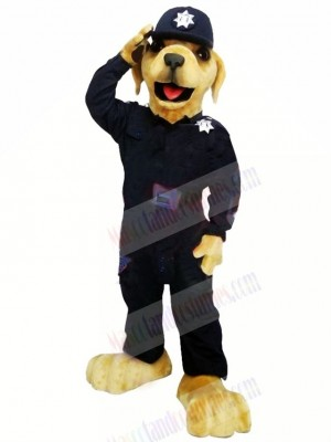 Best Quality Police Dog Mascot Costume Cartoon