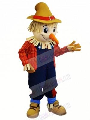 Cute Farmer Mascot Costume Cartoon