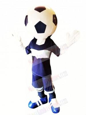 Funny Football Head Mascot Costume Cartoon