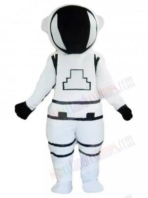 White Astronaut Cosmonaut Mascot Costume People