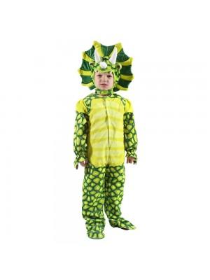 New Triceratops Dinosaur Costume Dinosaur Jumpsuit Halloween Christmas Dress up Gift for Kid