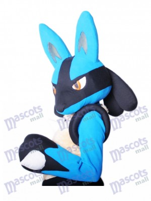 Japanese Cartoon Lucario Pokémon Pokemon Go Mascot Costume TYPE A