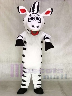 Cute Zebra Horse Mascot Costumes Animal