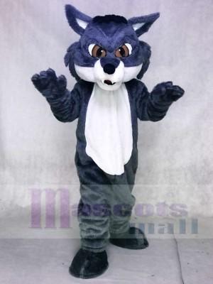 Fierce Gray Snow Fox Mascot Costumes Animal