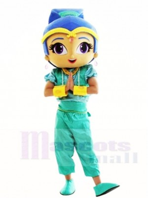 Shine Genie from Shimmer and Shine Mascot Costumes People