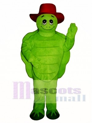 Tommy Turtle Tortoise with Hat Mascot Costume Animal