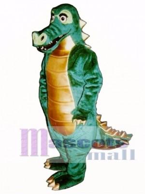 Spiked Alligator Mascot Costume Animal