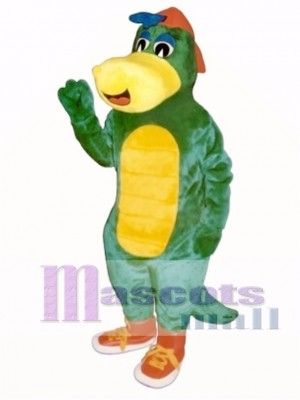 Dinosaur Jr. with Hat & Shoes Mascot Costume Animal